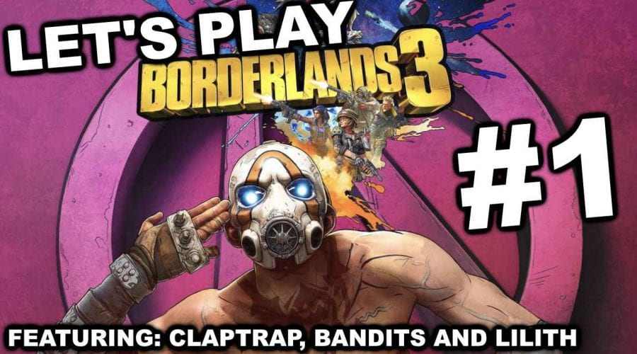 Let's play Borderlands 3 #1