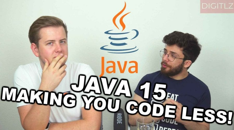 Java 15 - Making you code less