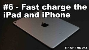 Background by Josh Sorenson from Pexels | Fast charge the iPad and iPhone
