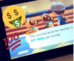Getting rich in Animal Crossing