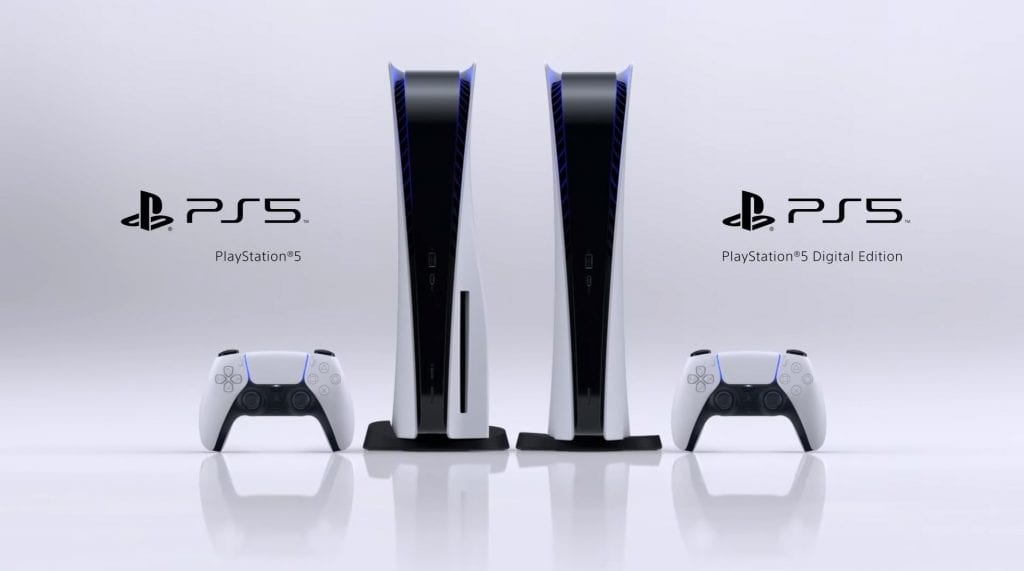 The two versions of the PlayStation 5 and how they look